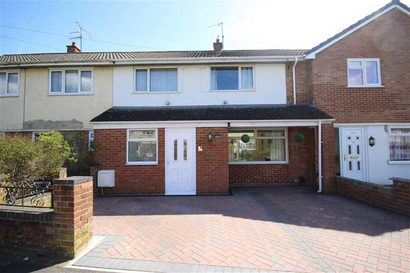 3 Bedrooms Terraced House for sale in Cranmore Avenue, Park South, Swindon