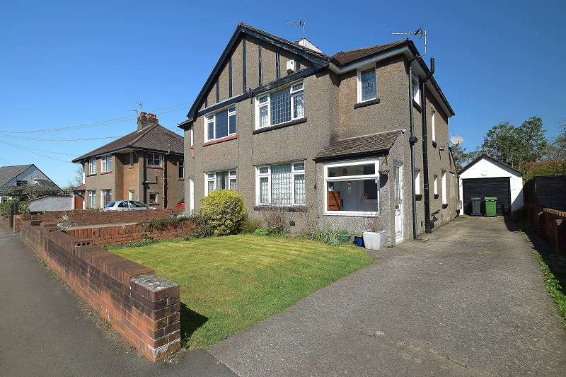 3 Bedrooms Semi Detached House for sale in Heol Y Bont , Rhiwbina, Cardiff. CF14 6AJ