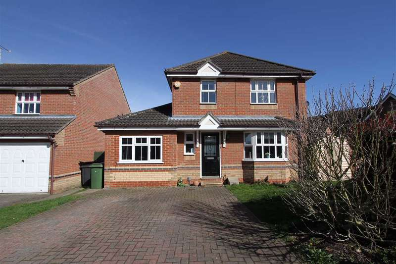 4 Bedrooms Detached House for sale in Fritillary Close, Ipswich