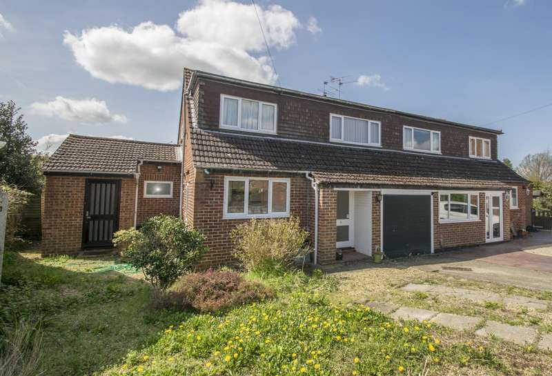 3 Bedrooms Semi Detached House for sale in Brookside, Cholsey, Wallingford, OX10