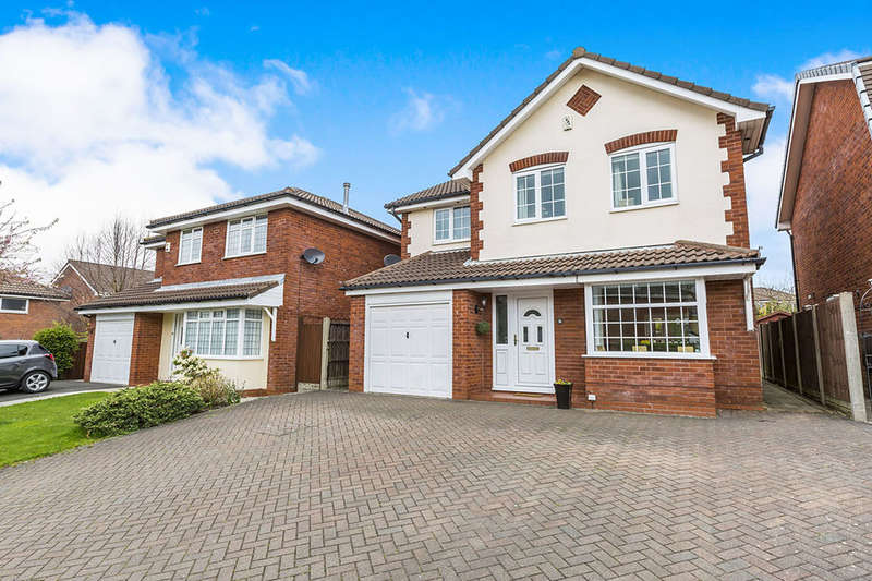 4 Bedrooms Detached House for sale in Springwood Close, Walton-Le-Dale, Preston, PR5