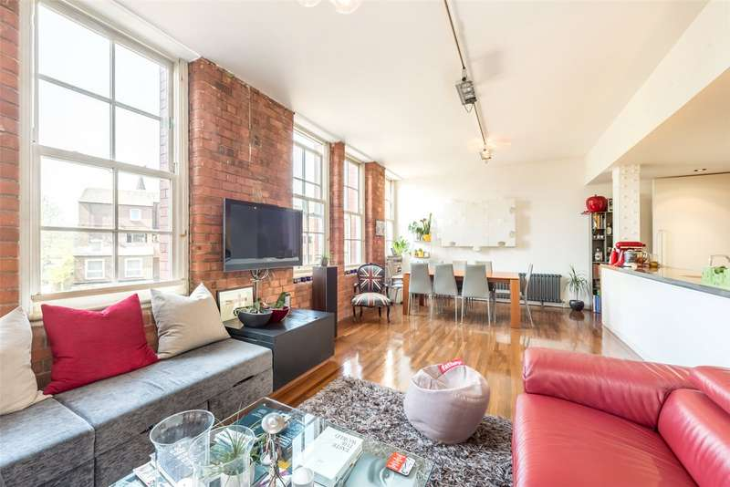 2 Bedrooms Apartment Flat for sale in Jam Factory, 27 Green Walk, London, SE1