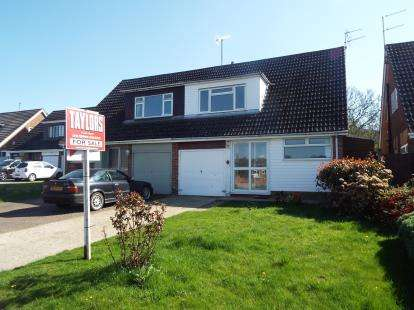 3 Bedrooms Semi Detached House for sale in Longway Avenue, Charlton Kings, Cheltenham, Gloucestershire