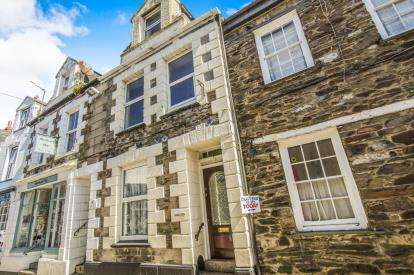 4 Bedrooms Terraced House for sale in Mevagissey, St Austell, Cornwall