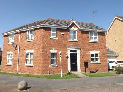 3 Bedrooms Semi Detached House for sale in Riveraine Close, Sutton In Ashfield, Nottinghamshire, Notts