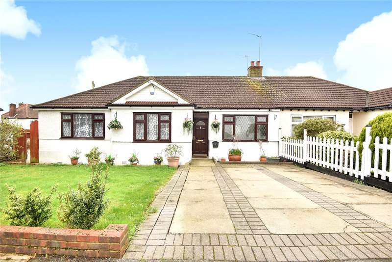 3 Bedrooms Semi Detached Bungalow for sale in Lyndhurst Gardens, Pinner, HA5