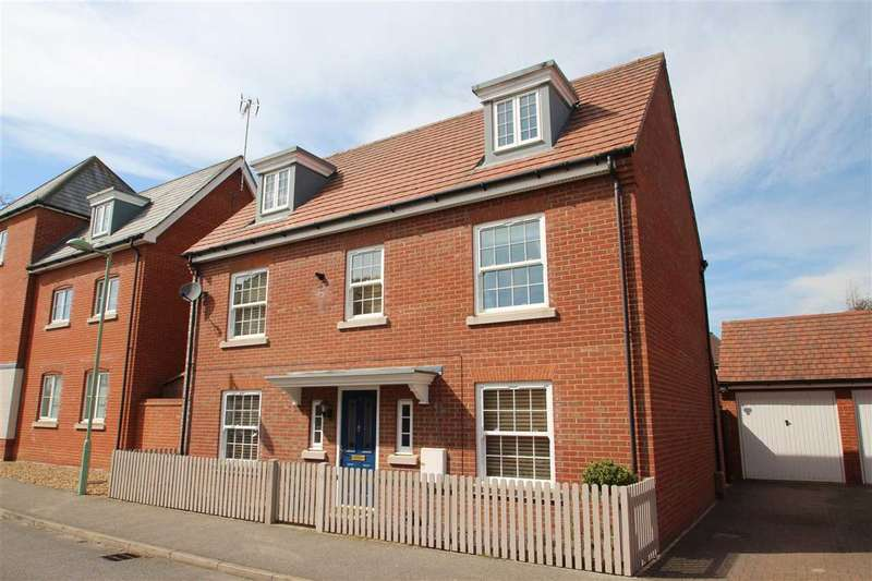 5 Bedrooms Detached House for sale in Peart Grove, Grange Farm, Kesgrave, Ipswich