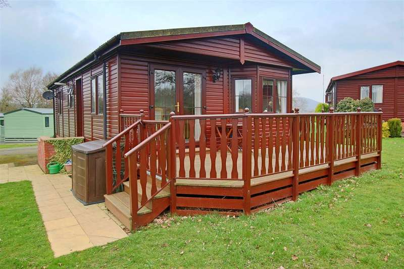 2 Bedrooms Bungalow for sale in Derwen Mill Holiday Park, Guilsfield, Welshpool