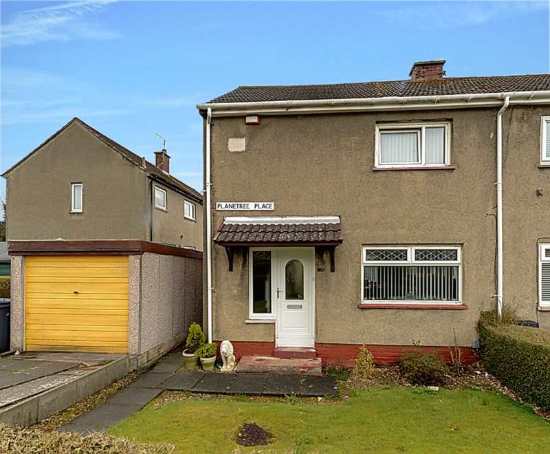 2 Bedrooms End Of Terrace House for sale in Planetree Place, Johnstone