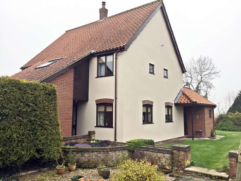 4 Bedrooms Detached House for sale in The Common, Mellis