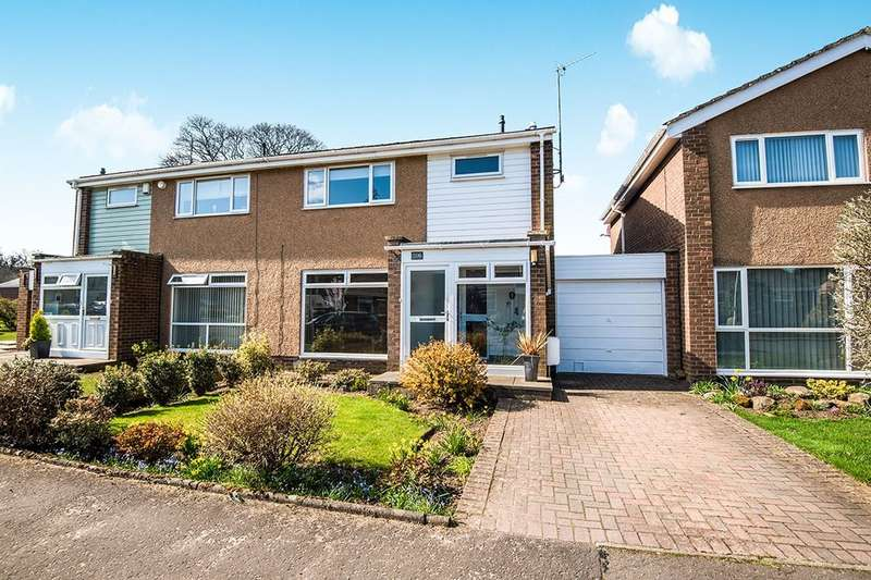 3 Bedrooms Semi Detached House for sale in Newbattle Abbey Crescent, Dalkeith, EH22