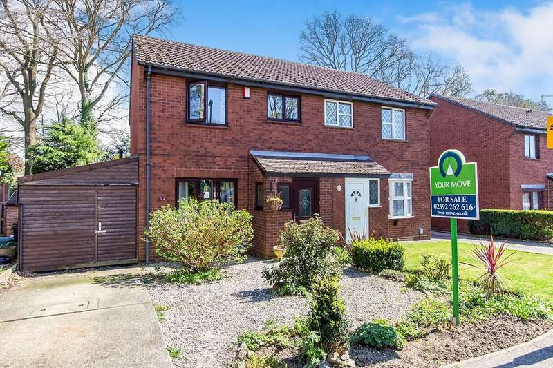 3 Bedrooms Semi Detached House for sale in Cardinal Drive, Waterlooville, PO7