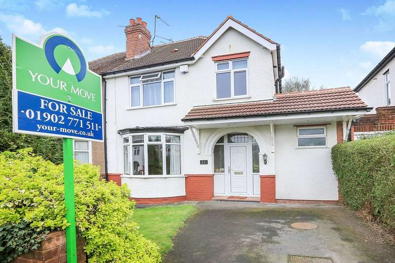 3 Bedrooms Semi Detached House for sale in Pennhouse Avenue, Wolverhampton, WV4