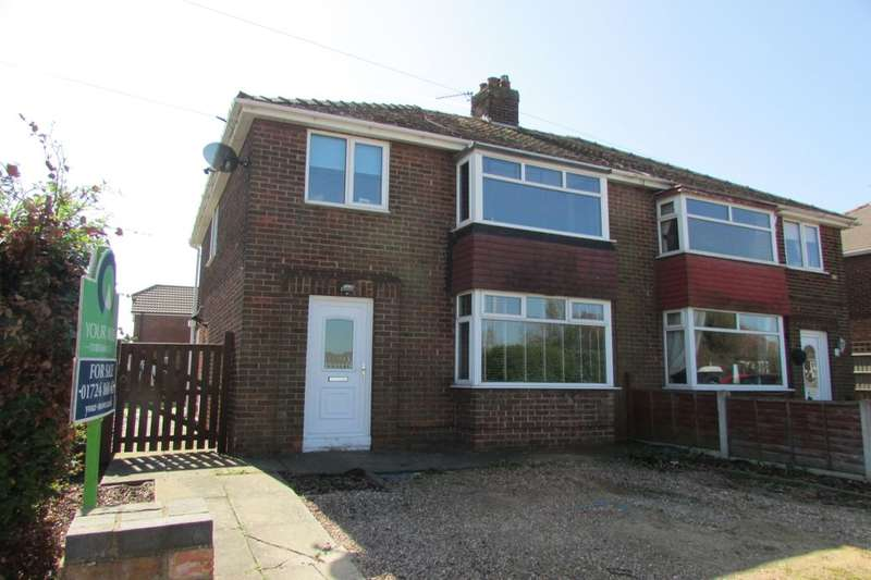3 Bedrooms Semi Detached House for sale in Rochdale Road, Scunthorpe, DN16