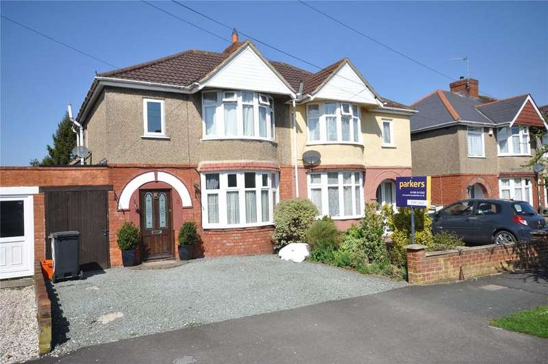 3 Bedrooms Semi Detached House for sale in Brooklands Avenue, Rodbourne Green, Swindon, Wiltshire, SN2