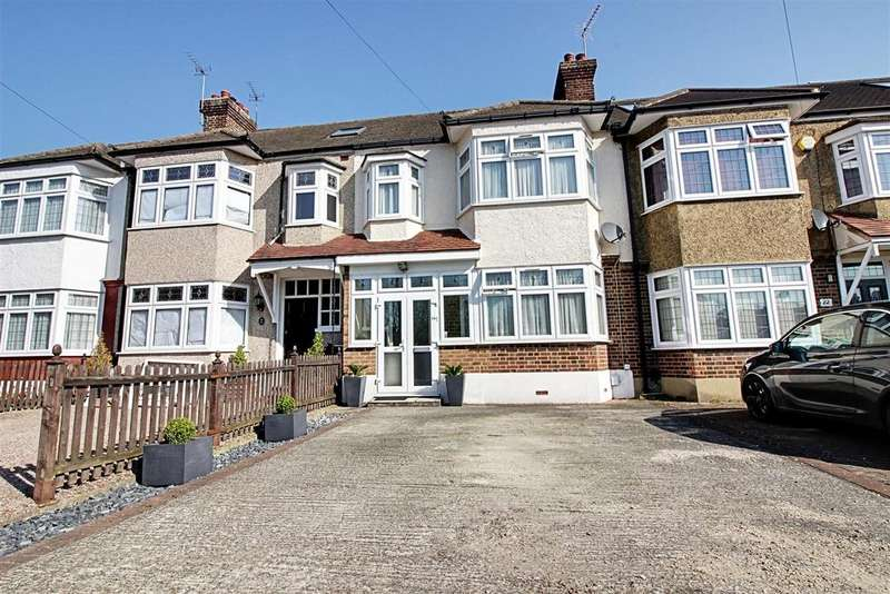 3 Bedrooms Terraced House for sale in Hillside Crescent, Cheshunt