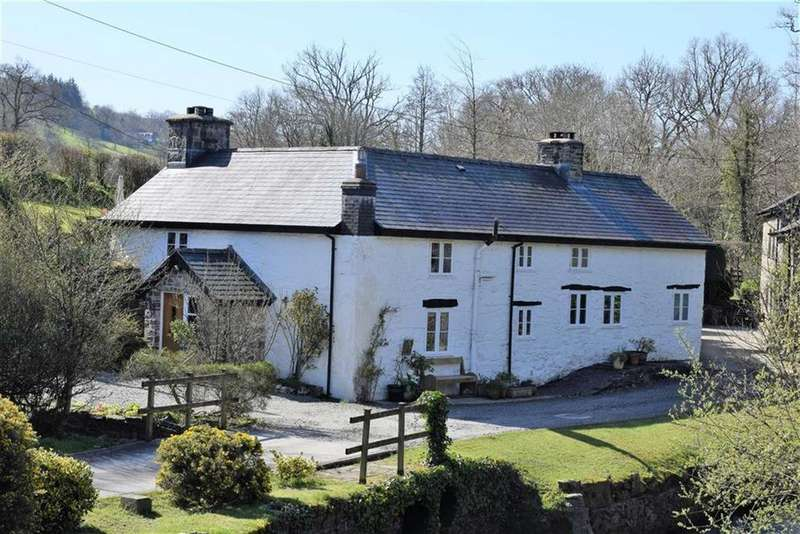 4 Bedrooms Detached House for sale in Hen Dafarn, Bontdolgadfan, Llanbrynmair, Powys, SY19