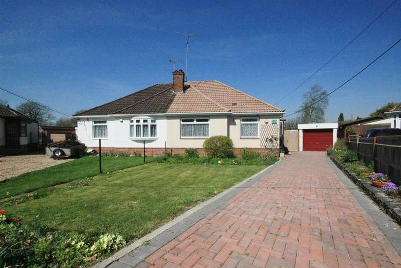 2 Bedrooms Semi Detached Bungalow for sale in Horton Way, Bishopstoke, Eastleigh