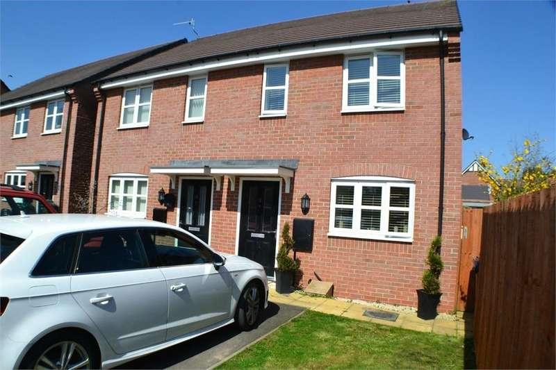 2 Bedrooms Semi Detached House for sale in Allen Close, Hinckley