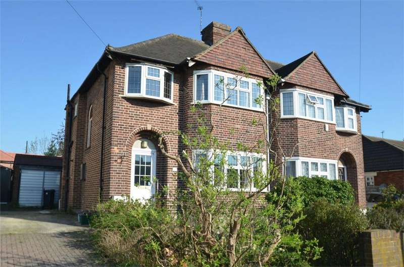3 Bedrooms Semi Detached House for sale in Gladeside, Shirley, Croydon, Surrey