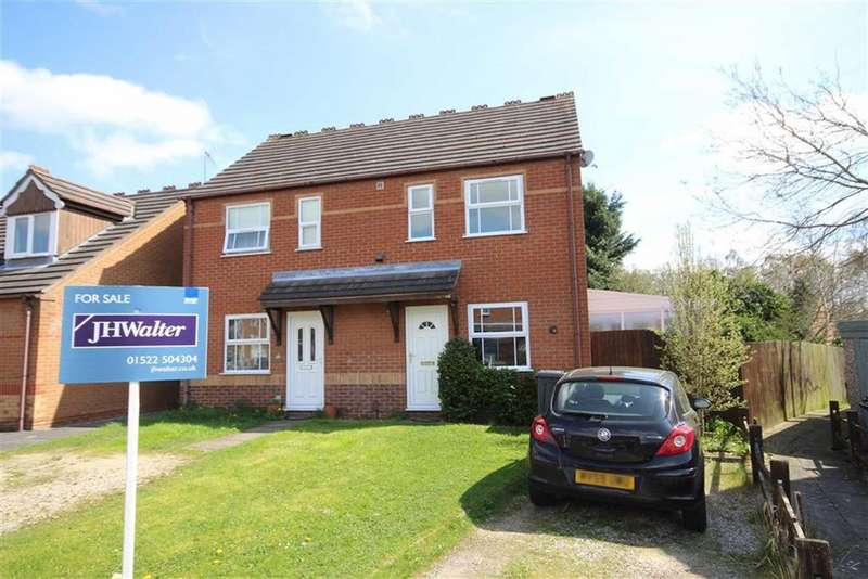 2 Bedrooms Semi Detached House for sale in Harrier Court, Lincoln, Lincolnshire