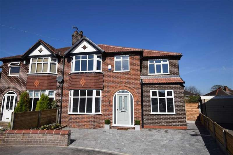 4 Bedrooms Semi Detached House for sale in Perry Road, Timperley, Cheshire, WA15