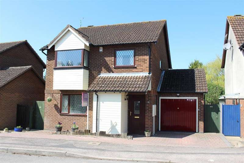 4 Bedrooms Detached House for sale in Lea Close, Broughton Astley, Leicester