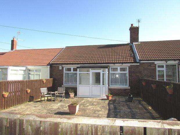 2 Bedrooms Terraced Bungalow for sale in JASPER AVENUE, SEAHAM, SEAHAM DISTRICT