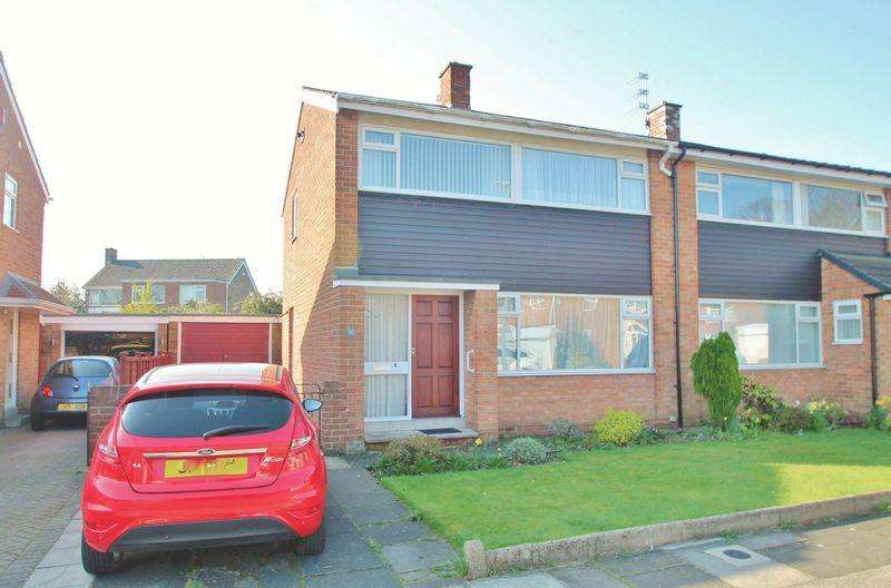 3 Bedrooms Semi Detached House for sale in North Wood, Acklam Hall