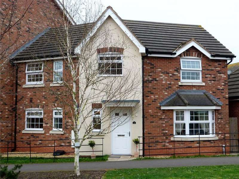 3 Bedrooms Semi Detached House for sale in Abbey Park Way, Wychwood Village, Weston, Cheshire, CW2