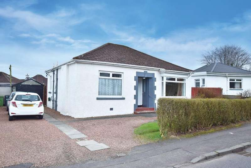 2 Bedrooms Detached Bungalow for sale in 4 Oronsay Crescent, Bearsden, G61 2EX