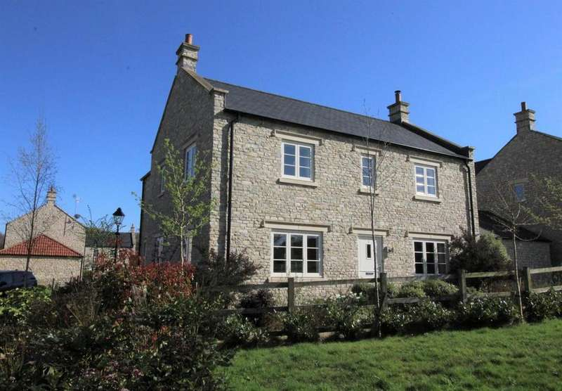 4 Bedrooms Detached House for sale in Manor Close, Kilmersdon, Radstock