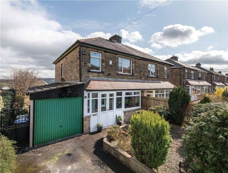 3 Bedrooms Semi Detached House for sale in Manor Drive, Cottingley, Bingley, West Yorkshire