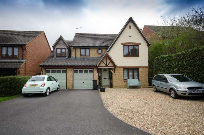 4 Bedrooms Detached House for sale in Shaw Close, Mangotsfield, Bristol, BS16 9LD