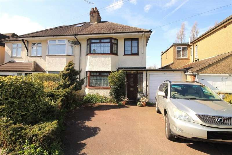 3 Bedrooms Semi Detached House for sale in Westbourne Drive, Brentwood, Essex, CM14