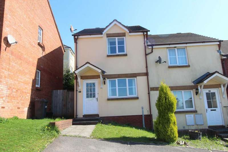 2 Bedrooms End Of Terrace House for sale in St. Kitts Close, Torquay
