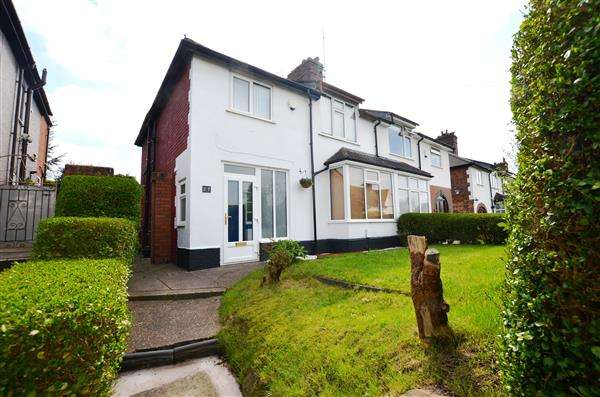 3 Bedrooms Semi Detached House for sale in Trent Valley Road, Penkhull, Stoke-On-Trent