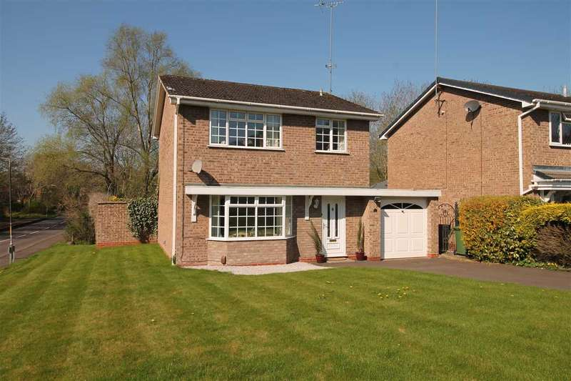 4 Bedrooms Detached House for sale in Stableford Close, Redditch