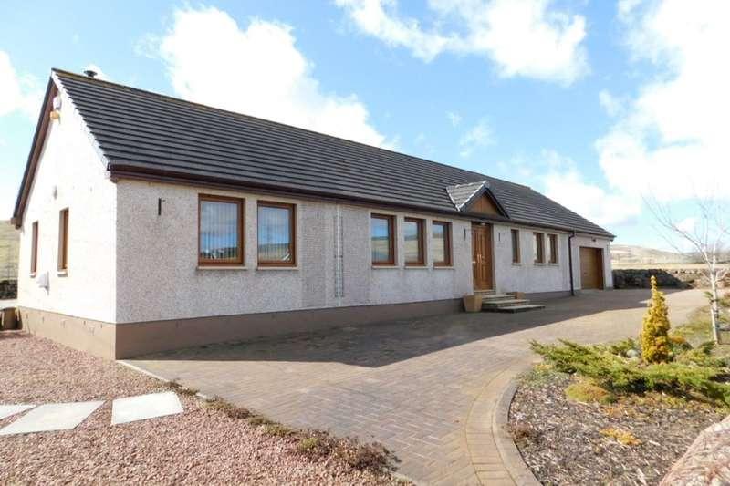3 Bedrooms Detached Bungalow for sale in Leadhills Road, Elvanfoot, Biggar, ML12
