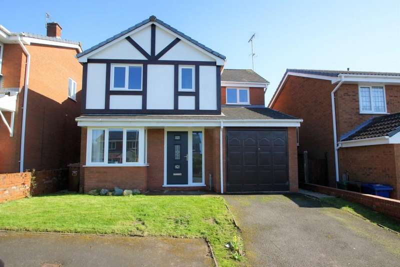 4 Bedrooms Detached House for sale in Turquoise Grove, Cannock