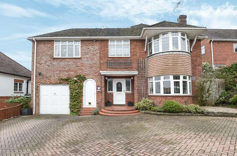 6 Bedrooms Detached House for sale in Brambleton Avenue, Farnham