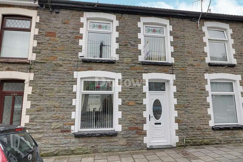 2 Bedrooms Terraced House for sale in Rhys Street, Trealaw