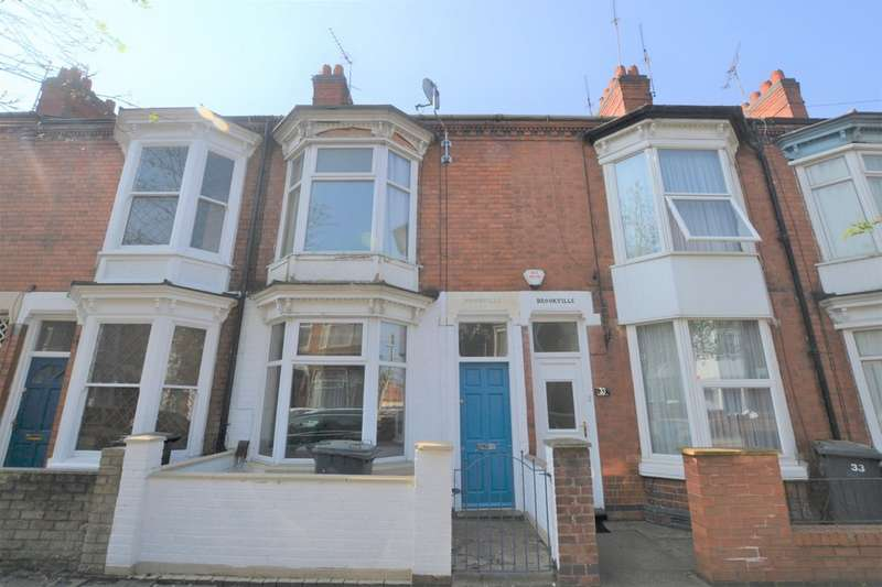 2 Bedrooms Terraced House for sale in Stuart Street , West End, Leicester LE3