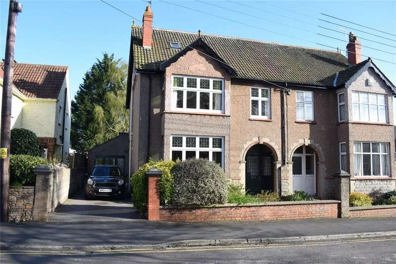 5 Bedrooms Semi Detached House for sale in Portway Avenue, Wells, Somerset, BA5