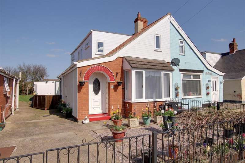 2 Bedrooms Semi Detached Bungalow for sale in 55 St. Andrews Road, Mablethorpe