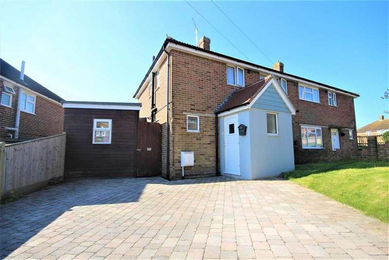 3 Bedrooms Semi Detached House for sale in Northdown Close, Newhaven
