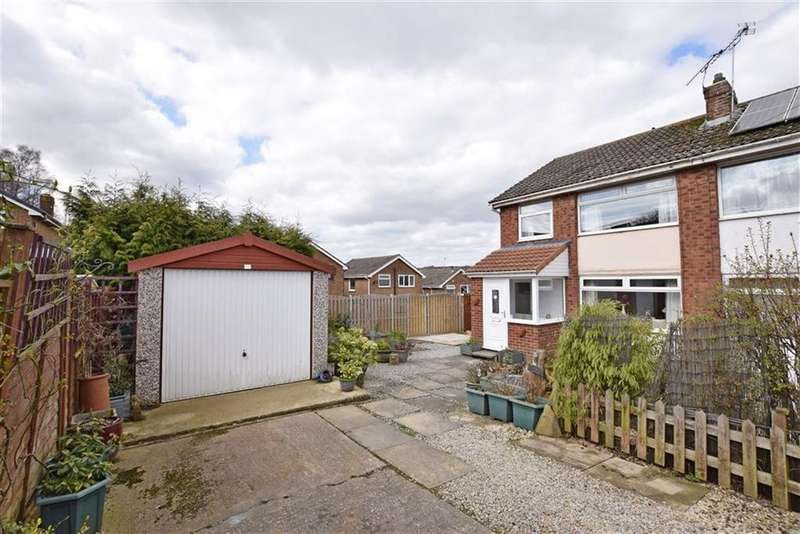 3 Bedrooms Semi Detached House for sale in Saint Hilda Close, Deepcar, Sheffield, S36