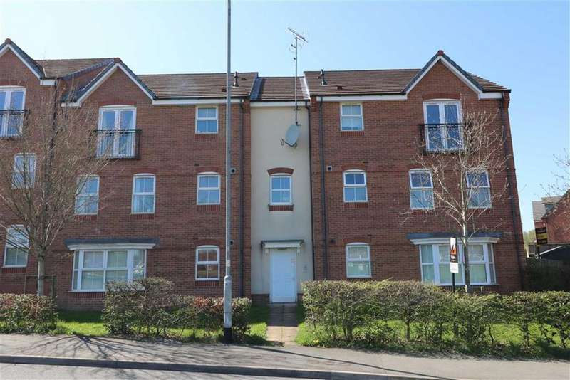 2 Bedrooms Apartment Flat for sale in Lupin Drive, Cannock, Staffordshire