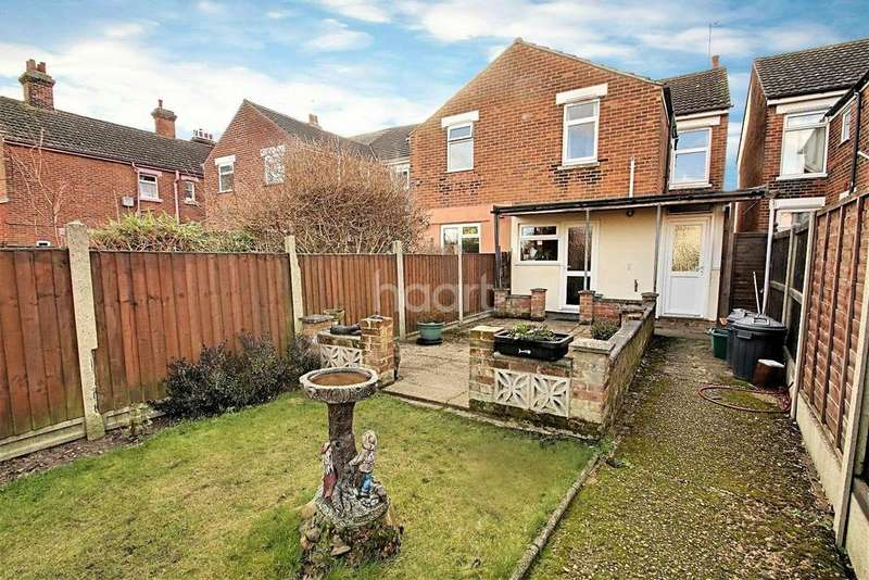 3 Bedrooms Semi Detached House for sale in Old Heath Road, Colchester.