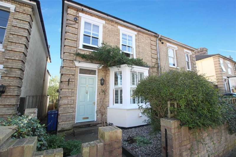 3 Bedrooms Semi Detached House for sale in Alpe Street, Ipswich